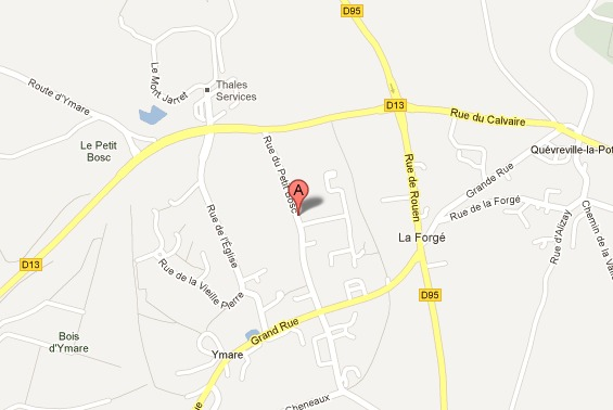 Le drame s'est produit dans un pavillon de la rue du Petit Bosc, à l'écart du centre ville d'Ymare