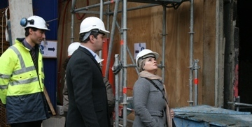 inspection du travail sur un chantier