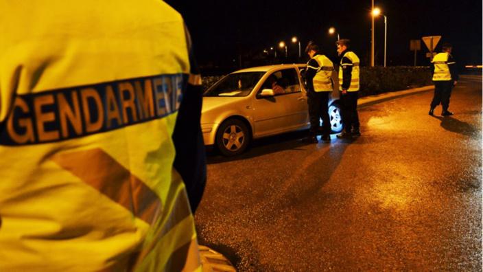 Les migrants ont été interceptés dans la nuit par les gendarmes - illustration