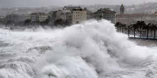 Le littoral haut-normand menacé par les vagues-submersion dans le secteur de Dieppe (Photo d'illustration)