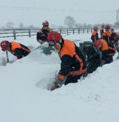 """Les pompiers ont été appelés en renfort dans les départements """"sinistrés"""" (photo Ministère de l'Intérieur)"""