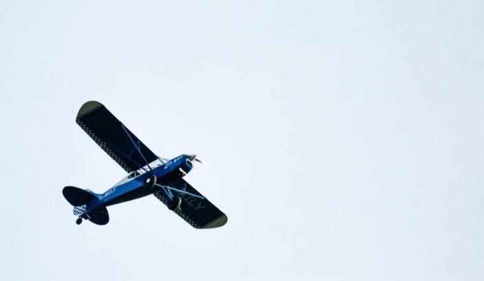 Le monomoteur s'est retourné en bout de la piste d'atterrissage - illustration © Pixabay