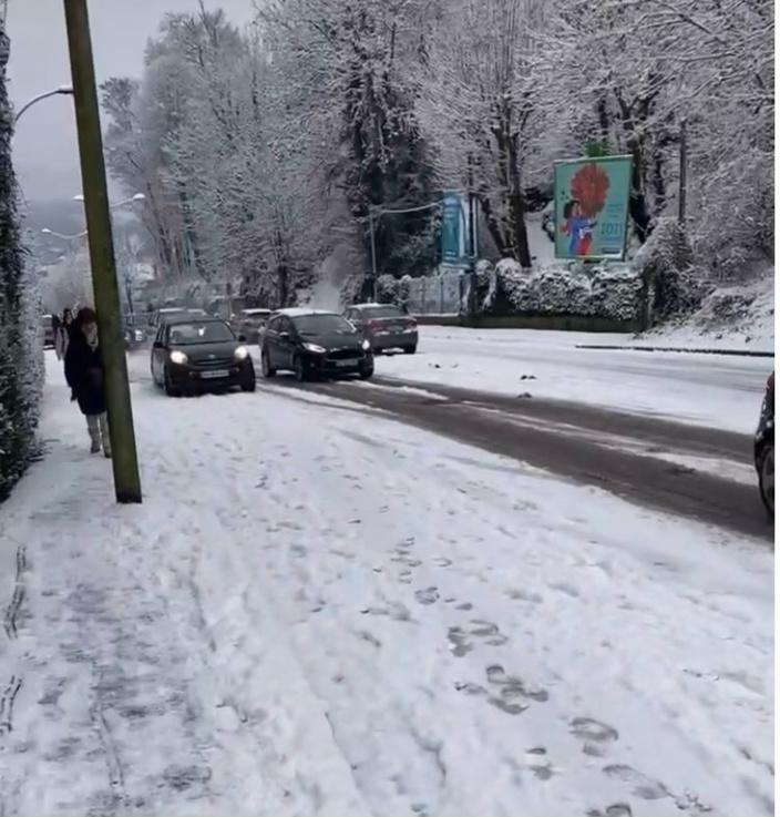 Les rues sont glissantes ce matin dans l'agglomération de Rouen -