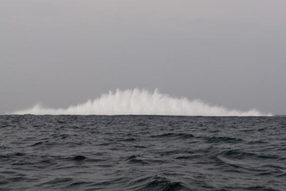 L'explosion de la torpille