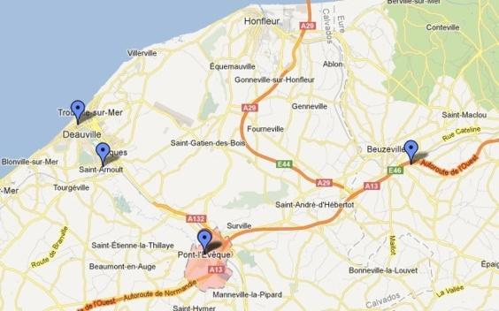 Les malfaiteurs ont d'abord dérobé une Clio à Pont l'Evêque avant de s'attaquer à la boutique Louis Vuitton à Deauville. Au cours de leur fuite, ils ont brûlé la Clio à Saint-Arnoult, à la sortie de Deauville et ont dérobé sous la menace un véhicule utilitaire.  Au péage de Beuzeville, sur l'A13 (Eure), les gendarmes ont dû faitre usage de leurs armes pour tenter d'intercepter les fuyards