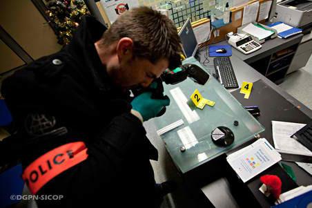 Le travail de la police technique et scientifique est déterminant sur une scène de crime (Photo d'illustration)