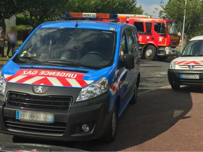La procédure gaz renforcée a été mise en place par les sapeurs-pompiers - Illustration © infoNormandie
