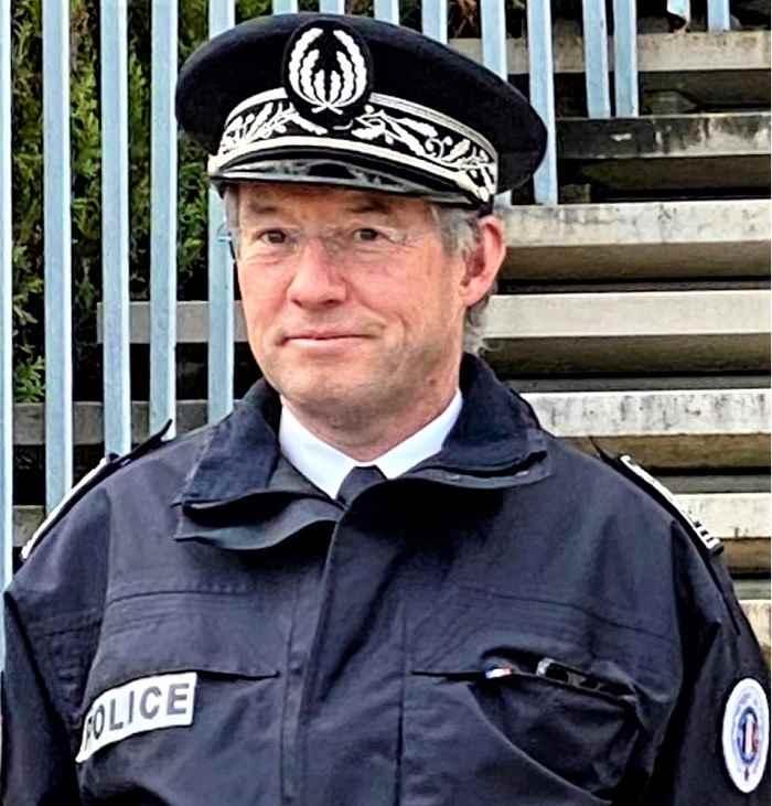 Bernard Le Hir sera resté deux ans à la tête de la direction départementale de la sécurité publique de l'Eure - Photo © infoNormandie