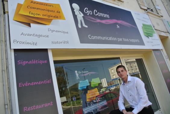 Geoffroy Ottonelli a choisi un emplacement idéal, à deux pas du centre ville de Vernon, pour installer sa boutique (Photo infonormandie.com)