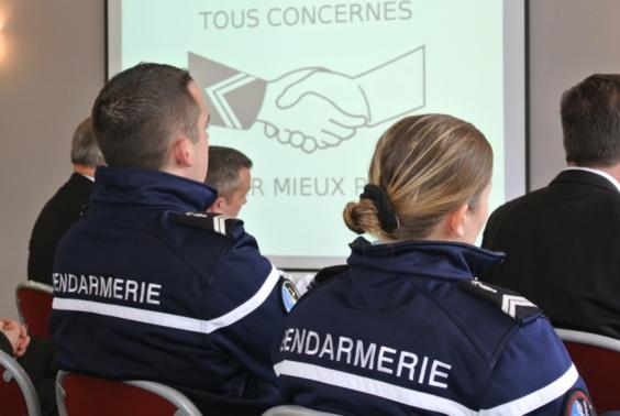 """Les référents sont des """"courroies de transmission""""  entre la population et la gendarmerie"""