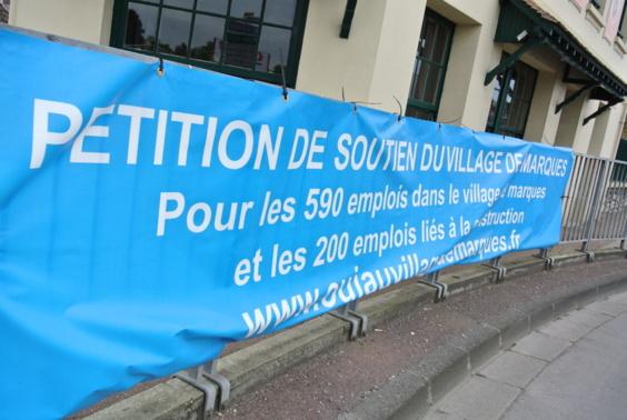 Les défenseurs du projet de Douains sont très actifs : la pétition a déjà recueilli 5413 signatures (Photo Infonormandie.com)