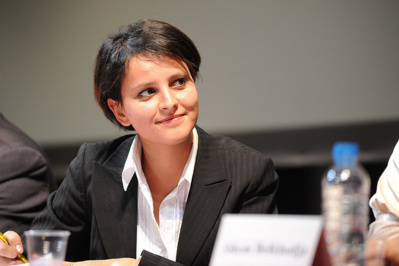 Najat Vallaud-Belkacem, ministre des Droits des Femmes (Photo Flirck @Ségolène Royal)