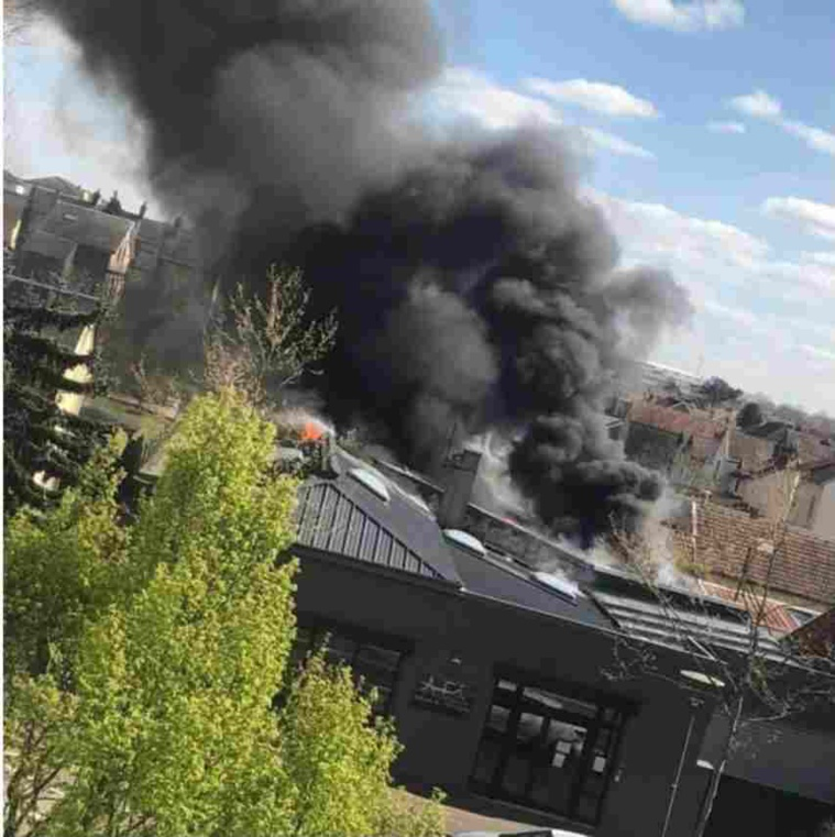 70 sapeurs-pompiers sont engagés sur l'incendie, qui s'est déclaré vers 15h30  - Photo © DR