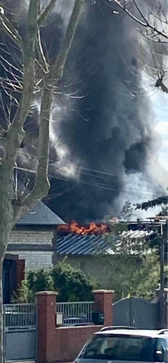 Violent incendie dans un entrepôt de peinture à Petit-Quevilly : 70 sapeurs-pompiers engagés