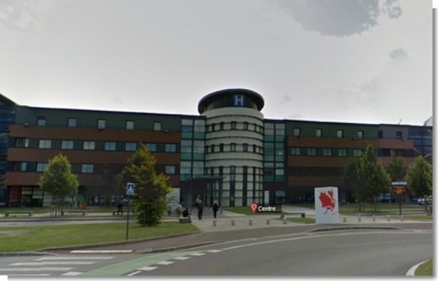 Le centre hospitalier de Dieppe (Photo Google Maps)
