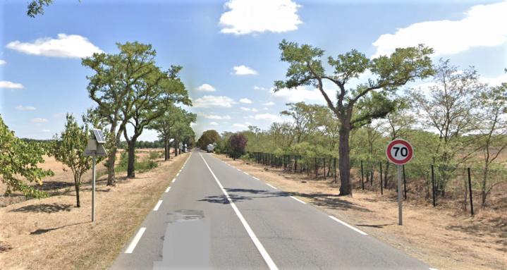 Le drame est survenu sur la route centrale qui conduit vers le SIAAP - Illustration © Google Maps