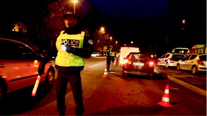 L'automobiliste alcoolisé roulait à contresens rue Claude-Monet à Sainte-Adresse - illustration @ DGPN