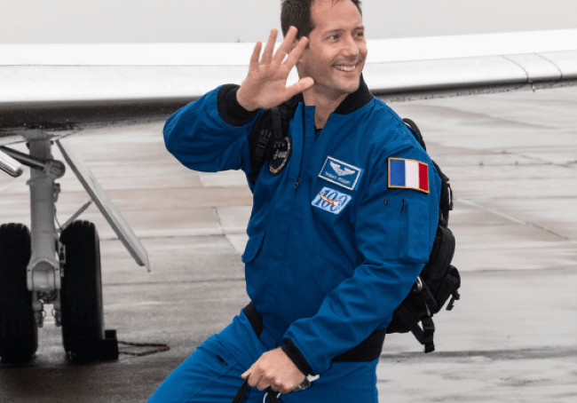 Deuxième mission dans l'espace pour le normand Thomas Pesquet Photo@NASA_Johnson/Twitter