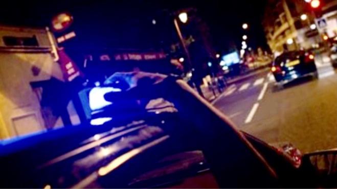 Le jeune homme a démarré en trombe à la vue des policiers en civil de la Bac - Illustration