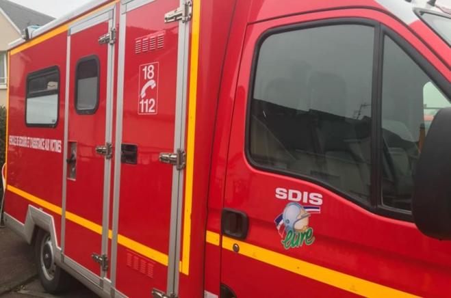 La jeune victime a été transportée par les sapeurs-pompiers au CHU de Rouen - Illustration @ infoNormandie