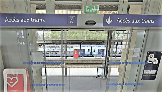 Le voleur a été remis aux policiers à la gare d'Evreux - Illustration