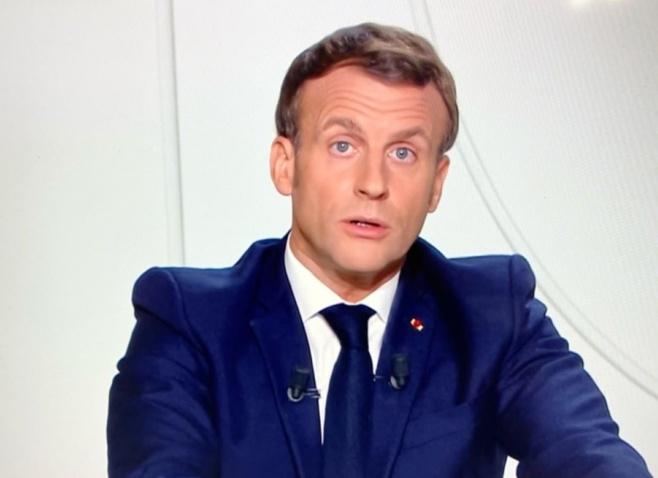 Emmanuel Macron a détaillé le calendrier du déconfinement qui va s'étaler par phases successives jusqu'au 30 juin sous réserve de la situation sanitaire du moment - Capture d'écran