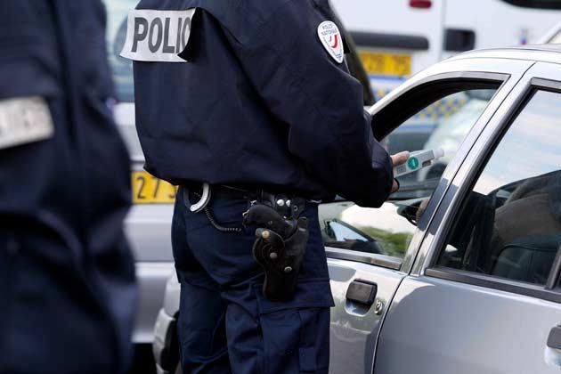 Le conducteur a été contrôlé rue du Bois des Communes au volant de sa voiture - Illustration