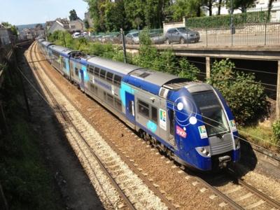 Un train sur trois prévoit la SNCF sur la ligne Le Havre - Paris-Saint-Lazare (photo infonormandie.com)