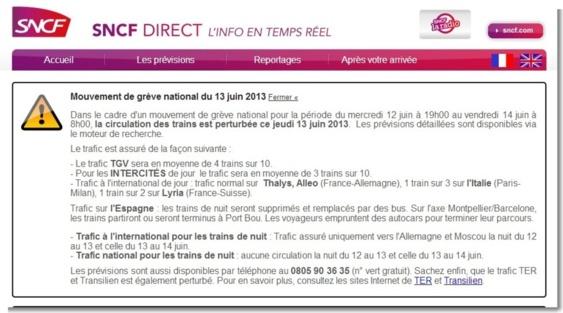Grève à la SNCF : un train sur trois entre Le Havre - Rouen et Paris-Saint-Lazare