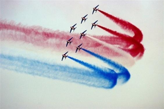 La Patrouille de France s'invite dans le ciel de l'Armada pour le bouquet final dimanche