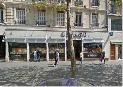 La bijouterie Lepage, avenue René-Coty, en plein centre-ville du Havre, a déjà été braquée deux fois depuis le début de l'année (Google Maps)