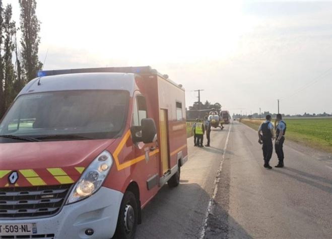 Les secours ont tenté de réanimer le conducteur qui était en arrêt cardio-respiratoire à leur arrivée - Illustration