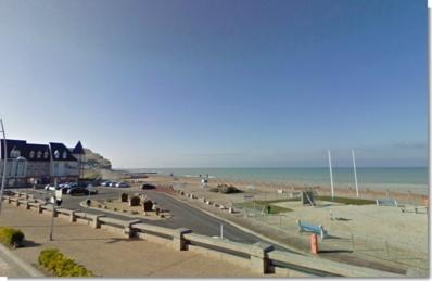 La plage de Criel-sur-Mer (Google Maps)
