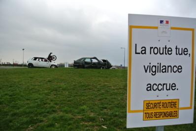 Campagne de sensibilisation dans l'Eure (Photo Infonormandie)