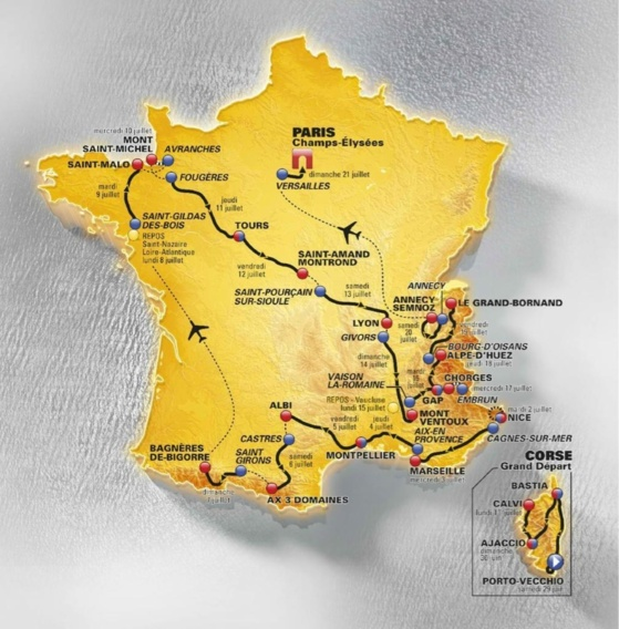 Le Tour de France en Bretagne et en Normandie : les conseils pratiques pour bien circuler