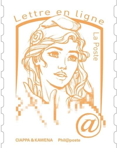 """La nouvelle Marianne des timbres """"incarne la jeunesse"""""""