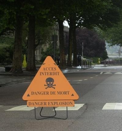 Un périmètre de sécurité de 1000 mètres avait été disposé (photo d'illustration)