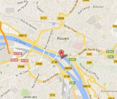 Le corps flottait dans un bras de la Seine près du chantier naval Villetard (Google Maps)