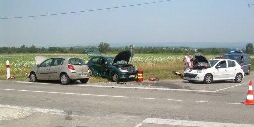 L'état des véhicules après l'accident mortel (Photo Midi Libre)