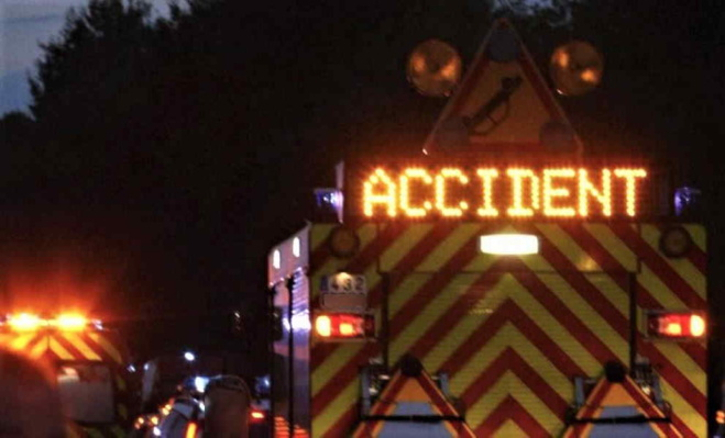 La route a été coupée le temps de l'intervention des secours - Illustration