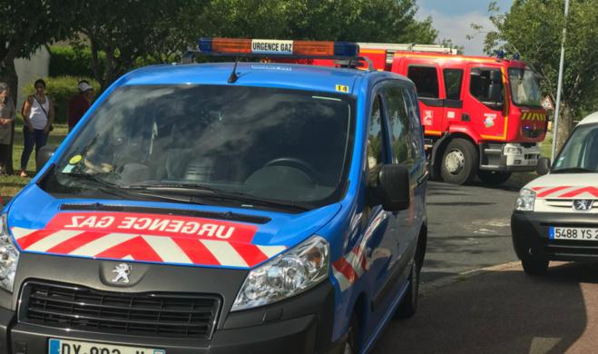 Les recherches sur l'origine de cette odeur ont mobilisé 26 sapeurs-pompiers  et des techniciens de GrDF - Illustration © infoNormandie