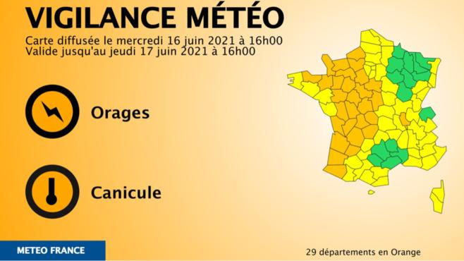Carte@ Météo France