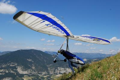 L'accident a eu lieu après le décollage : pour une raison inconnue l'aile delta de l'ex champion de France de la discipline a décroché (Photo d'illustration)
