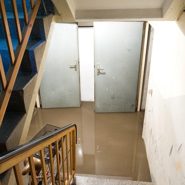 Caves et sous-sols inondés ont constitué le gros des interventions des sapeurs-pompiers - Illustration © Adobe