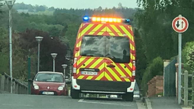 L'automobiliste blessé a été emmené à l'hôpital de Rouen - illustration @ infoNormandie