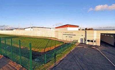 Le centre pénitentiaire du Havre est ouvert depuis avril 2010. Il a une capacité de 690 places