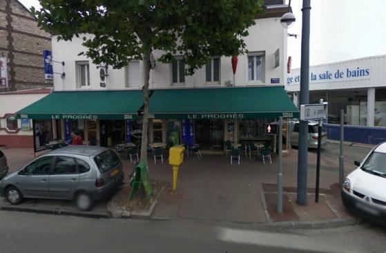 Le gérant du bar Le Progrès allait ouvrir son établissement lorsqu'il a été agressé à proximité, sur la voie publique (@Google Maps)