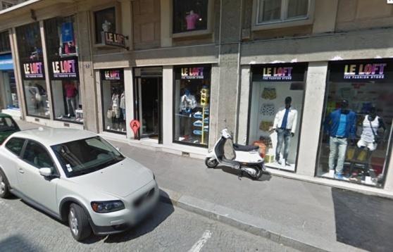 Le magasin Le Loft est situé en centre-ville (@Google Maps)