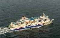 Le ferry Normandie assurant la liaison Portsmouth-Ouistreham, se trouvait alors à 24 nautiques (soit 46km) au nord-est de Barfleur