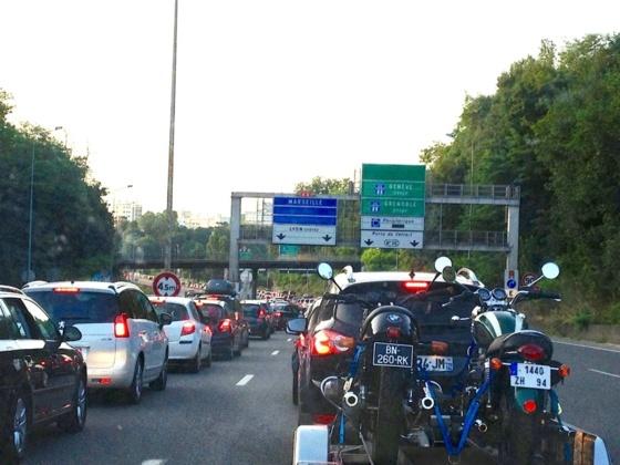La circulation sur la route des vacances devrait être ce samedi classé rouge à l'image du week-end dernier (Photo Infonormandie)
